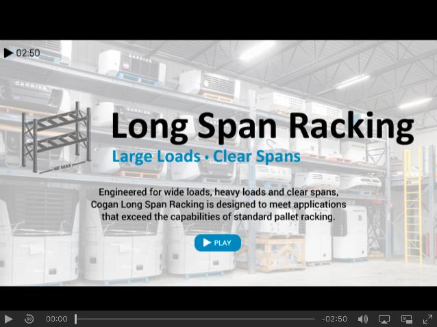Cogan Long Span Racking - Power Transmission Company 2a654a2636