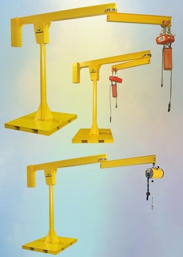 Portable Articulating Jib Crane Power Transmission Company